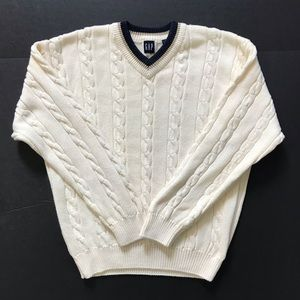 Gap sweater pullover cable knit big boys size XXL